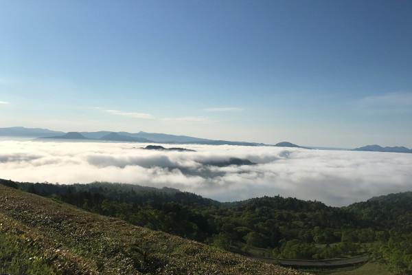 高確率で雲海に出合えるスポットが北海道にあった! [屈斜路湖&摩周湖]