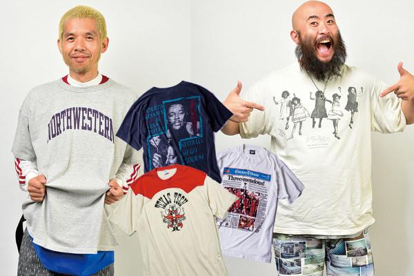 『カレッジ』に『フォトプリント』。いま狙うべきユーズドTシャツ