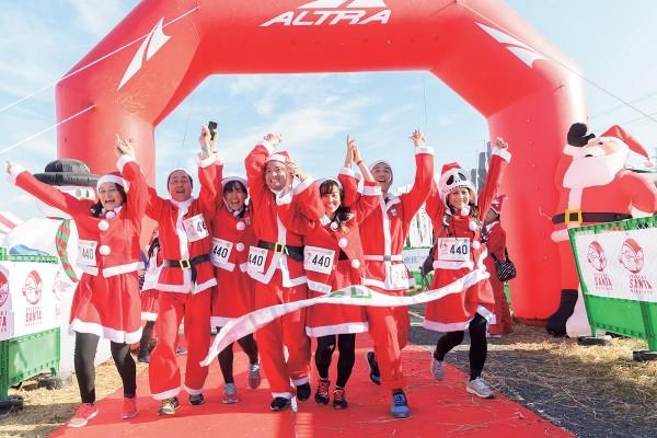 【イベント】サンタになりきって走ろう! 『第5回 聖蹟サンタマラソン』を12月17日(日)開催