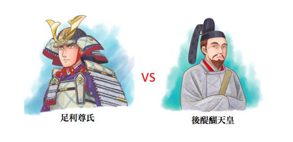 尊氏 vs 後醍醐jpg