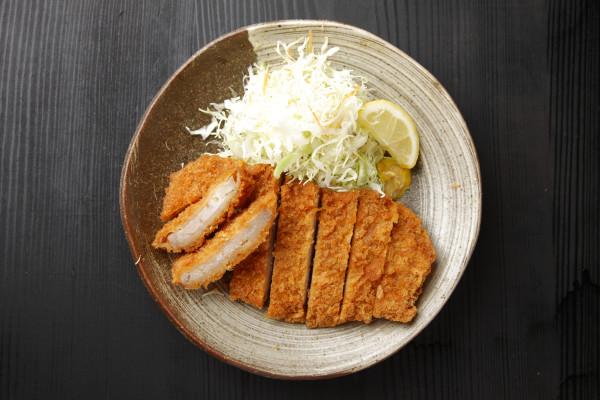 "Japanese pork cutlet ""Tonkatsu"""