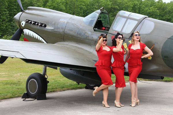カーチスP-40、メッサーBf109、フォッケウルフFw190、なんたって軍用機はカッコいい