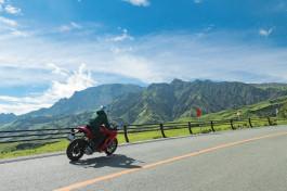 年末年始はバイクで阿蘇を走って、熊本を応援しよう