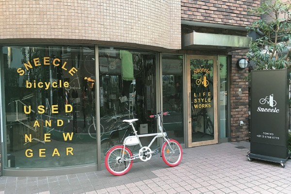 東京都・目黒区に『スニークルTOKYO』オープン!【自転車】