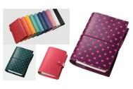 システム手帳は好みの色で! 鮮やかな色彩で魅了