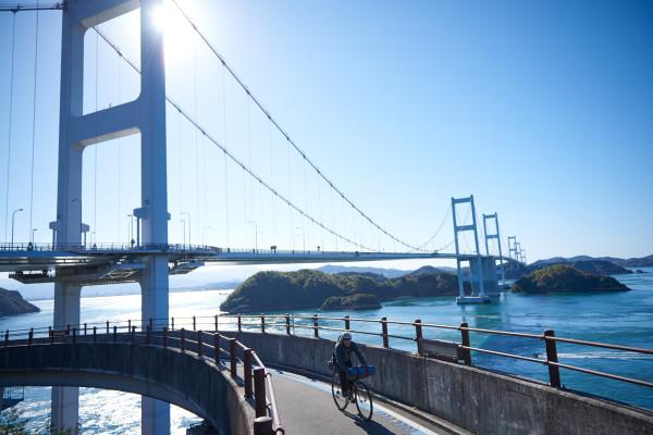 スポーツバイクとライトウエイトで楽しむ!バイクパッキング in しまなみ海道