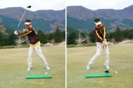 体重移動を使って、体をしっかり回せ! ドライバー練習時の注意点
