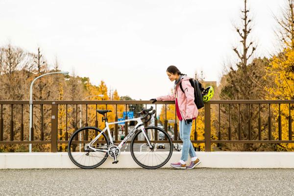 スポーツバイクを取り入れて、ラクに、カッコよく走りたい。