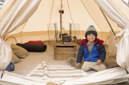 快適なテント泊をとことん追求。フォトグラファー親子のほのぼのキャンプライフ