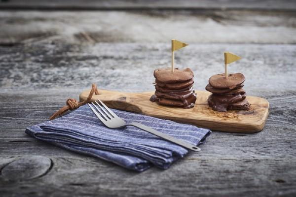 【かんたん山ごはん】山でバレンタイン! ミニチョコパンケーキ