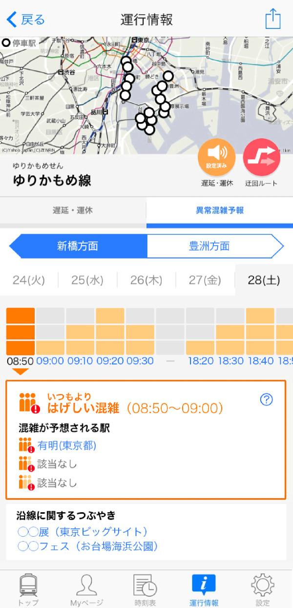 運行情報画面 のコピー