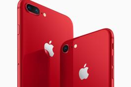 Apple、iPhone 8/8 Plusの(RED)モデルを発表