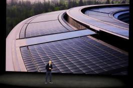 Apple、世界的に自社で消費する100%のエネルギーを再生可能エネルギーで調達