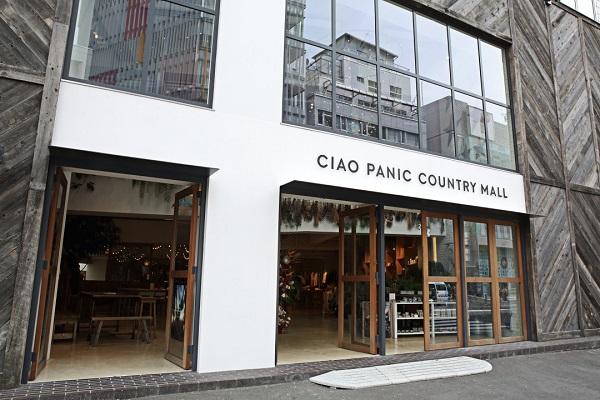 ライフスタイルに根付いた服、雑貨がジャンルレスにそろう。CIAO PANIC COUNTRY MALL(東京・原宿)