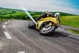 ジェット噴射でバイクの転倒回避? Boschの謎安全技術【動画付き】