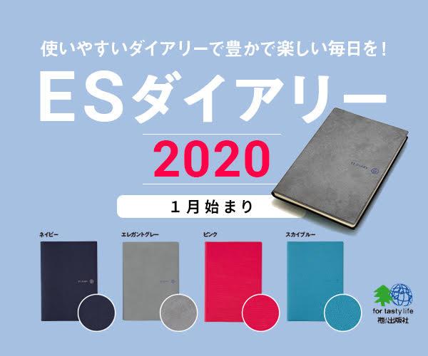 ES ダイアリー 2020 [1月始まり]