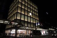 夜のアップルストア京都を見て、アップルデザインの強さと深さを思い知った