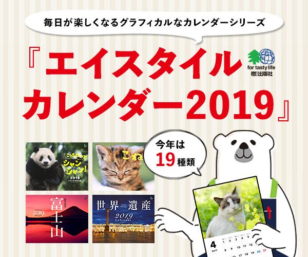 エイスタイルカレンダー2019