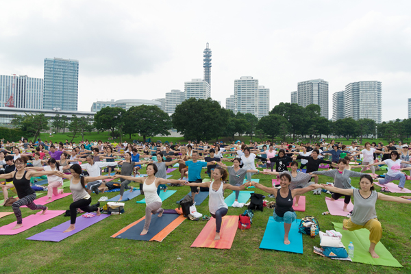 9月15日~17日、アジア最大級のヨガイベント「yoga fest YOKOHAMA 2018」が開催