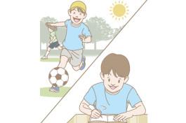 授業中の集中力がグングンあがる! 通学前にできる子どものための脳活ストレッチ