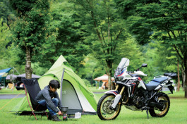 BikeJIN Camp Meeting in山梨県早川町
