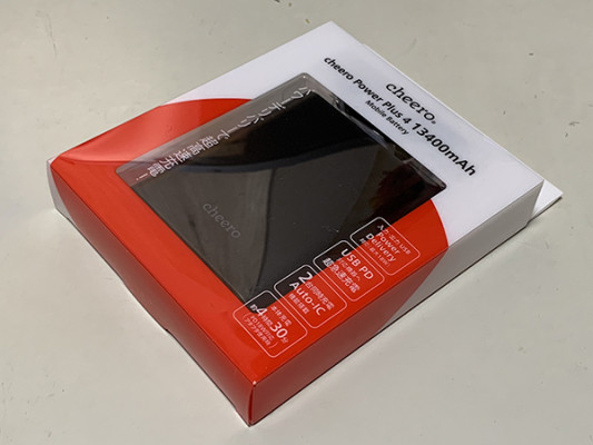 cheero、究極の定番バッテリーの最新モデル Power Plus 4 13,400mAhを発売!