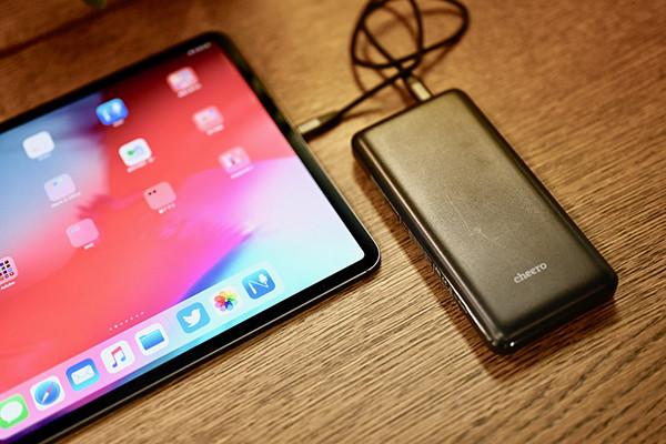 新型iPad Proをどのアダプター、バッテリーで充電すれば良いか計ってみた