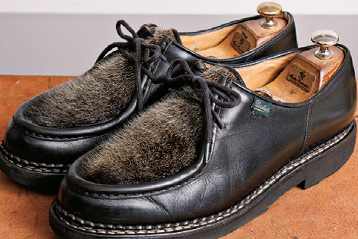 やりこみノート 革靴