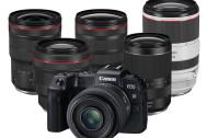 キヤノンRFマウント用レンズを年内に6本追加。ラインナップは10本に