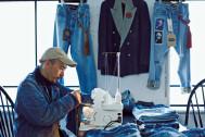 '90年代のアメリカ製リーバイス®で再構築したオーベルジュの新感覚ジーンズ