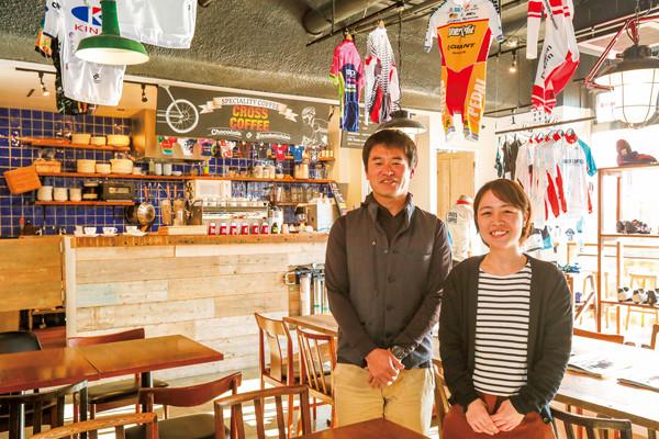 自転車乗りなら、つい足が向く。多摩川沿いのサイクルカフェ