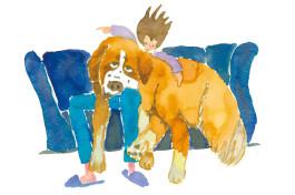 飼い主さんからのラブレター!? 笑っちゃうけど愛おしい「大きな犬あるある」